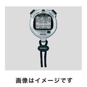 【セイコー SEIKO】セイコー SEIKO デジタルストップウォッチ(ソーラー充電型) 6-5346-21 SVAJ101