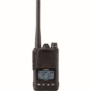 【アルインコ ALINCO】アルインコ ALINCO デジタル簡易無線 登録局 5Wタイプ 大容量バッテリー付属 ブラック DJ-DPS70KB