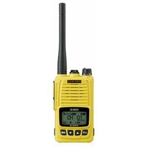 【アルインコ ALINCO】アルインコ ALINCO デジタル簡易無線 登録局 5Wタイプ 標準バッテリー付属 イエロー DJ-DPS70YA