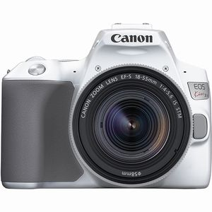 送料無料!!【キヤノン Canon】EOS Kiss X10 EF-S18-55 IS STM レンズキット(ホワイト)【smtb-u】