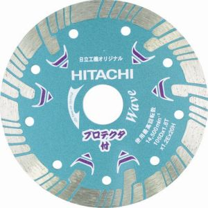 【ハイコーキ HiKOKI】ハイコーキ ダイヤモンドカッター 180mmX25.4 波形 プロテクタ 0032-4703