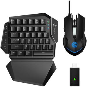 GameSir VX ゲーミング キーボードマウス 《週末限定タイムセール》 男女兼用 2.4GHz AimSwitch ワイヤレス eスポーツコンボ