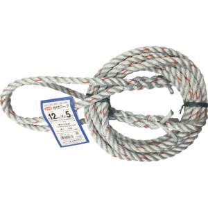 納期: お得なキャンペーンを実施中 取寄品 キャンセル不可 1着でも送料無料 出荷:約7-11日 土日祝除く ユタカメイク Yutaka PEPP混紡ロープ DR-125 12mmX5m 台付ロープ