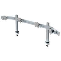 【Belltech】4台ウィング型ツールバーシステム モニターアーム EGTB-4514W