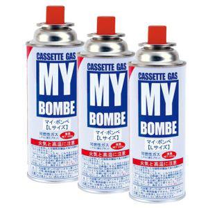 【ニチネン NITI】カセットコンロ用ボンベ マイボンベL 250g x 3本