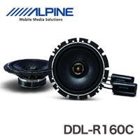 【アルパイン(ALPINE)】16cmコアキシャル2ウェイ ベストヴォーカルスピーカー DDL-R160C