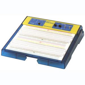 【サンハヤト Sunhayato】サンハヤト Sunhayato デジタル回路対応電源内蔵ブレッドボード SRX-42PD
