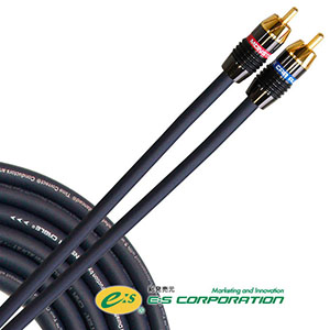 【MONSTER CABLE】RCA オーディオケーブル 2ch 5m 【国内正規輸入品】 MCA 450i-5M