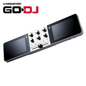 【MONSTER CABLE】ハイレゾ対応 ポータブルDJデバイス 【国内正規輸入品】 GO-DJ