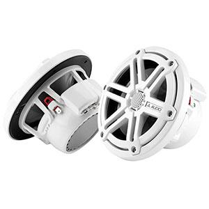 【JL AUDIO】19.6cm 2way コアキシャルスピーカー 【国内正規輸入品】 JL-M770-CCX-SG-WH