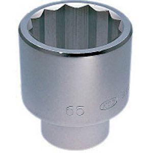 【KTC 京都機械工具】25.4sq. ソケット (十二角) 77mm B50-77