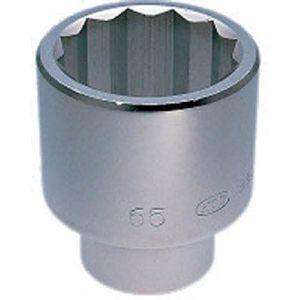 【KTC 京都機械工具】25.4sq. ソケット (十二角) 85mm B50-85