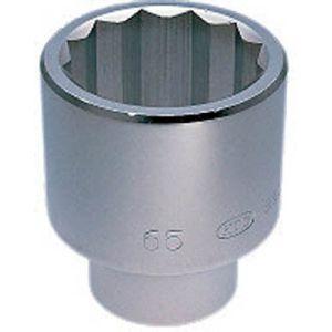 【KTC 京都機械工具】25.4sq. ソケット (十二角) 54mm B50-54