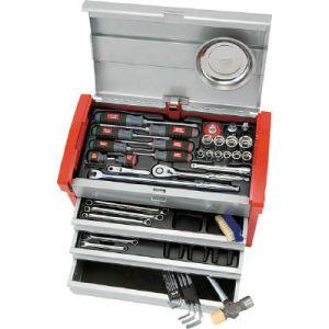 【KTC 京都機械工具】工具セット (チェストタイプ) 59点 SK4580E