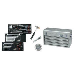 【KTC 京都機械工具】工具セット (チェストタイプ) 66点 SK3650XS