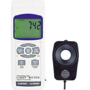 【カスタム CUSTOM】SDカードデータロガー照度計 LX-2000SD