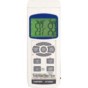 送料無料!!【カスタム CUSTOM】SDカードデータロガー4チャンネルデジタル温度計 CT-05SD【smtb-u】