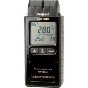 【カスタム CUSTOM】デジタル温度計 KT-02U