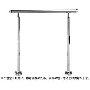 【シロクマ】アプローチ手すり(B) シルバー/HL