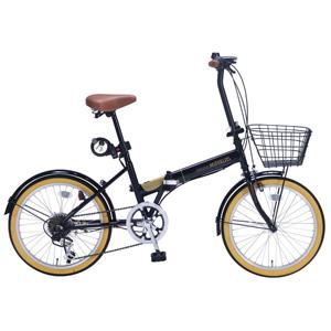 送料無料!!【マイパラス MYPALLAS】折畳自転車 20 6SP オールインワン M-252 BK ブラック 【メーカー直送 代引き不可】【smtb-u】
