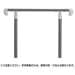 大きな割引 【シロクマ】アプローチ手すり(U)アイアンウッド・シルバー:あきばお~支店-DIY・工具