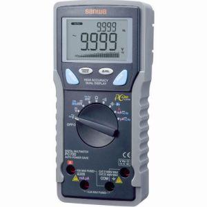 【三和電気計器 サンワ SANWA】デジタルマルチメータ 高確度・高分解能(パソコン接続) PC700