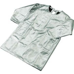 【トラスコ中山 TRUSCO】スーパープラチナ遮熱作業服 エプロン LLサイズ 1着 TSP-3LL 3100