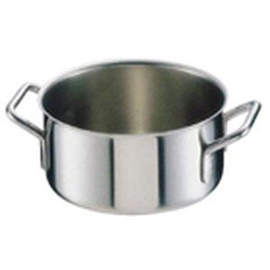 【シットラム】シットラム イノックス18-10半寸胴鍋 三重底(蓋無)18B 18cm AHV09018