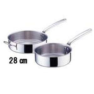 【デバイヤー】18-10プライオリティ 片手浅型鍋(蓋無) 3691-24 デバイヤー ASTE52