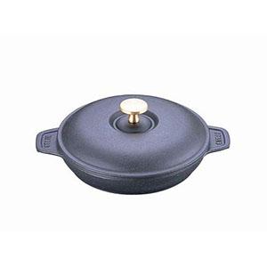 【ストウヴ】ストウブ ラウンドホットプレート(蓋付) 20cm ブラック 40509-579 RST3601
