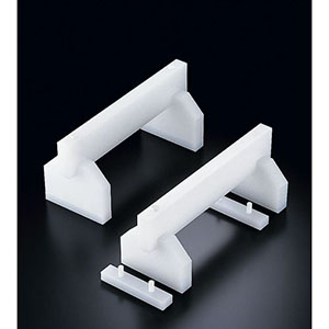 【住ベテクノプラスチック】プラスチック高さ調整付まな板用脚 45cm H200mm AMN63452