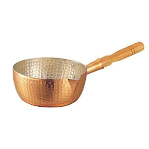 【丸新銅器】銅製雪平鍋 24cm AYK07024