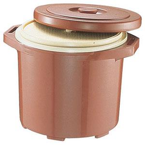【台和】プラスチック保温食缶みそ汁用 DF-M2(小) DHO02002