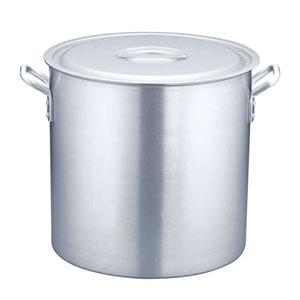 【遠藤商事】TKG アルミニウム 寸胴鍋(アルマイト加工)(目盛付) 42cm AZV6342