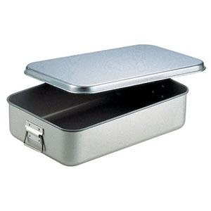 【オオイ金属】アルマイト給食用飯缶(蓋付) 264 AHV46264