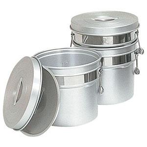 【オオイ金属】アルマイト段付二重食缶 245R (6L) ASY74245