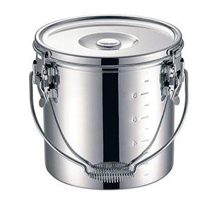 【本間製作所】KO 19-0 電磁調理器対応 スタッキング給食缶 24cm ASYG604