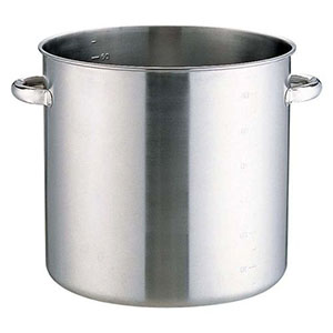 【本間製作所】KO 19-0電磁対応寸胴鍋(蓋無) 40cm AZV8005