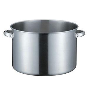 【本間製作所】KO 19-0電磁対応半寸胴鍋(蓋無) 40cm AHVD805