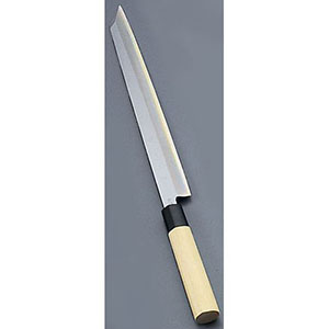 【實光】堺實光 匠練銀三 刺身 切付(片刃) 24cm 10711 AZT3402