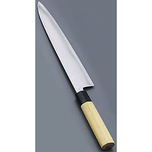 【實光】堺實光 匠練銀三 和牛刀(両刃) 18cm 37633 AZT4301