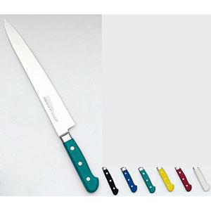 【實光】堺實光 STD抗菌PC 筋引(両刃) 27cm 緑 56052 AZT7109