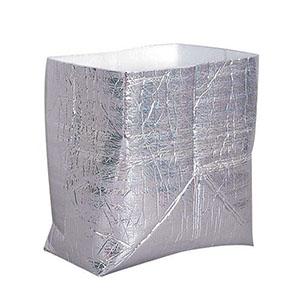 【新日本ケミカル・オーナメント工業】保冷・保温袋 アルバック自立式袋お弁当用 (50枚入) AAL3001