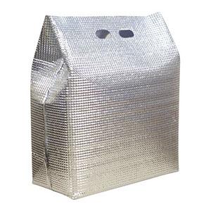 【新日本ケミカル・オーナメント工業】保冷・保温袋 アルバック 自立式袋 (50枚入) LWサイズ AAL2903