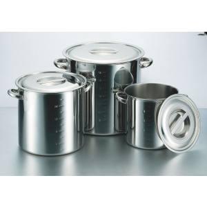 【大屋金属】電磁モリブデン寸胴鍋 目盛付 24cm AZV6524
