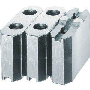 【トラスコ中山 TRUSCO】生爪ソール用 標準型 チャック10インチ H60mm 1組 MSE-10-60 4500