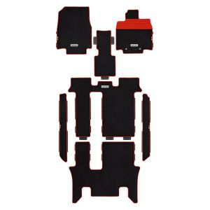 納期:【取寄品 出荷:約4-11日 土日祭日除く】 【無限(MUGEN)】08P15-XNB -K0S0-RD スポーツマット(2列目キャプテンシート) ブラックXレッド ステップワゴン RP1/2