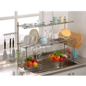 【杉山金属】キチンとキッチン収納4段切り替え式オプション付き KS2717