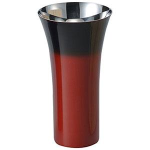 【アサヒ ASAHI】漆磨 シングルカップL 1客 赤彩 SCS-L602