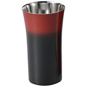 【アサヒ ASAHI】漆磨 シングルカップS 1客 黒彩 SCS-S601